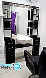 Робоче місце перукаря з вбудованою мийкою, фото 2