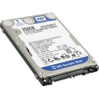 Жесткий диск 2.5' 250Gb Western Digital Scorpio Blue, SATA2, 8Mb, 5400 rpm (WD2500BEVT) (Ref)