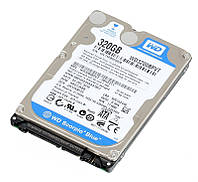 Жесткий диск 2.5' 320Gb Western Digital Blue, SATA2, 8Mb, 5400 rpm (WD3200BPVT) (Ref)