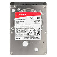 Жесткий диск для ноутбука 500Gb Toshiba L200, SATA3, 8Mb, 5400 rpm (HDWK105UZSVA)