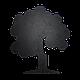 Доска меловая фигурная Дерево