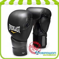 Перчатки тренировочные Everlast Protex2 14 oz кожвинил