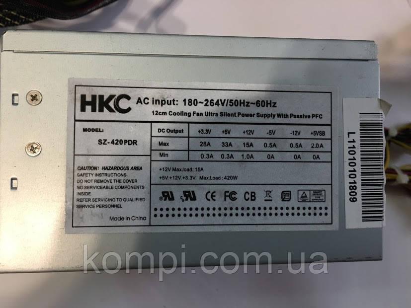 420W HKC SZ-420PDR 180-264v блок питания ATX бу
