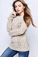 Вязаные женские свитера Света-1 из шерсти и акрила