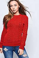 Вязаные женские свитера Света-2 из шерсти и акрила