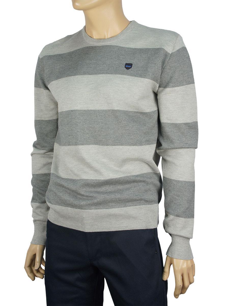 Чоловічий светр Better Life 1008 H сірий