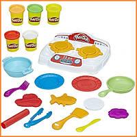 Плей-До набор пластилина Кухонная плита со звуком Play-Doh Kitchen Creations Hasbro