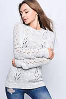 Вязаные женские свитера Света-4 из шерсти и акрила