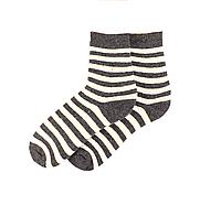 Носки женские  Любава - 3842 серые в полоску