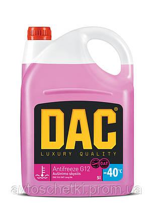 Антифриз Dac G12 OAT Long Life 5000 мл (красный), фото 2