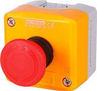 Кнопочный пост E.NEXT e.cs.stand.xal.d.174 - кнопка-грибок с фиксацией; поворотный возврат