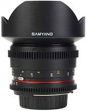 Об'єктив Samyang 14mm T3.1 V-DSLR ED AS IF UMC (Sony E)