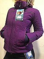 Avecs куртка горнолыжная женская Фиалковая