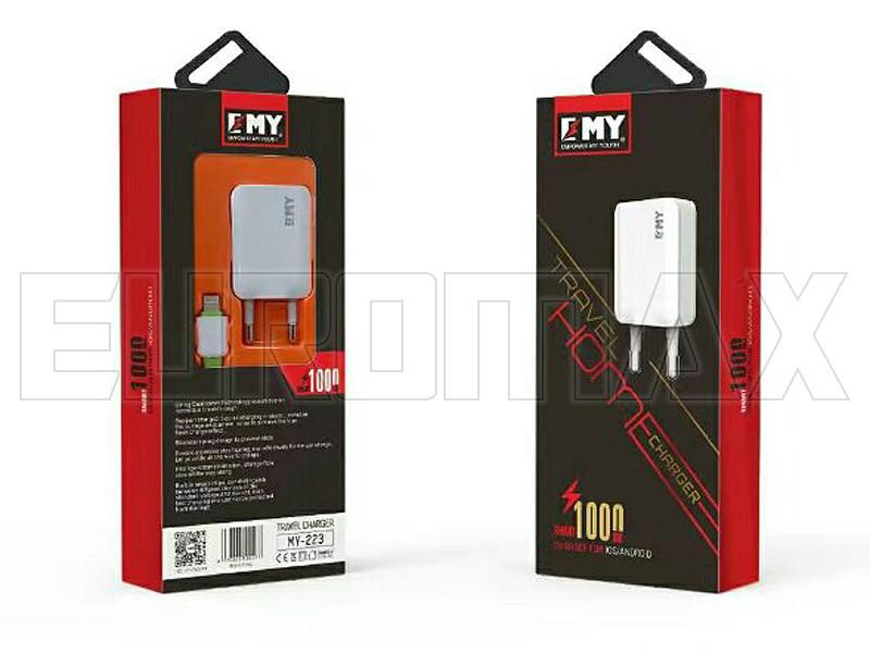 Зарядное устройство Empower My Youth 220В 1USB MY-223