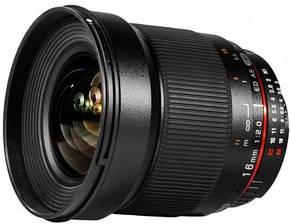 Об'єктив Samyang 16mm f/2.0 ED AS UMC CS (Canon), фото 2