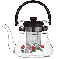 Заварочный чайник A-PLUS стекло 1000 мл (1040)