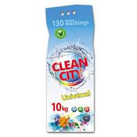 Стиральный порошок Clean City универсальный 10кг.