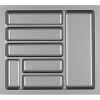 Копия Лоток для столовых приборов 550 серый
