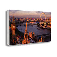 Фото картина на холсте с принтом Лондон