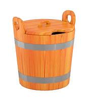 Запарник 22 л лиственница для бани и сауны