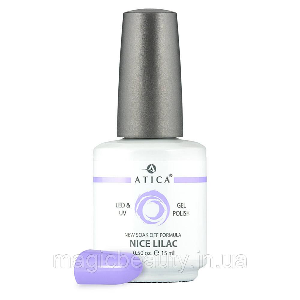 Гель-лак Atica Nice Lilac 35, 15 мл