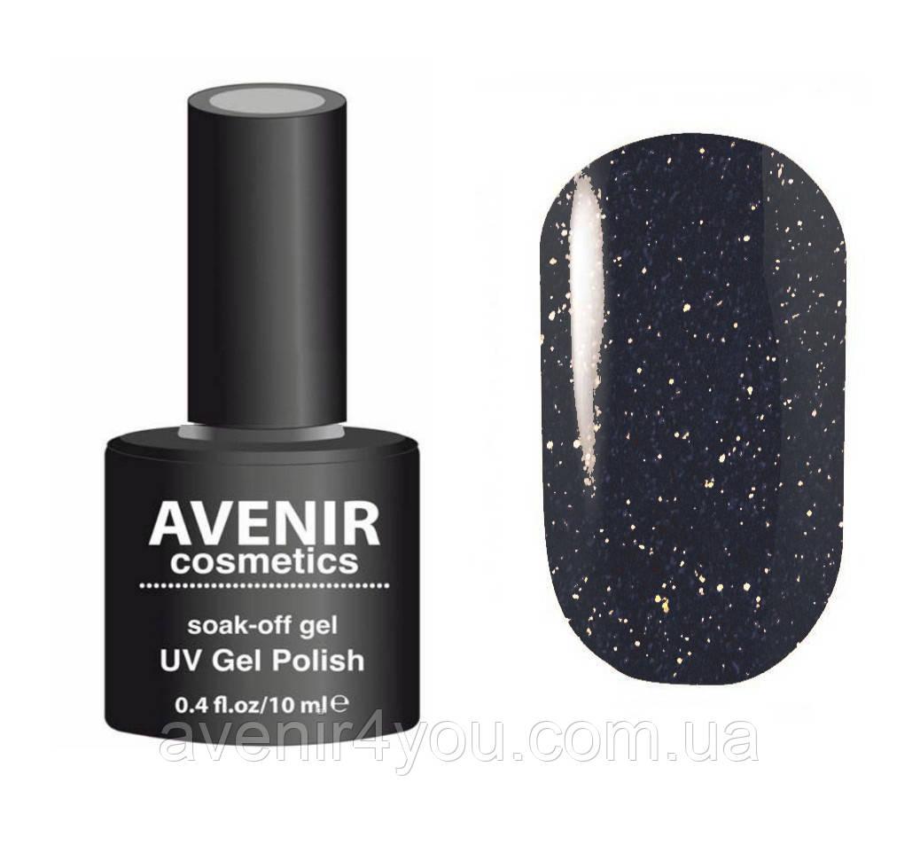 Гель-лак AVENIR Cosmetics №114. Звездная ночь