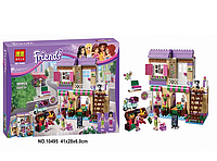 Детский конструктор для девочек.Конструктор Friends на 389 деталей.Конструктор детский пластмассовый.
