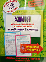 Хімія 7-9 класи. Довідник. Оновлена програма.