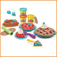 Плей-До набор пластилина Ягодные пороги Play-Doh Playful Pies Set Hasbro