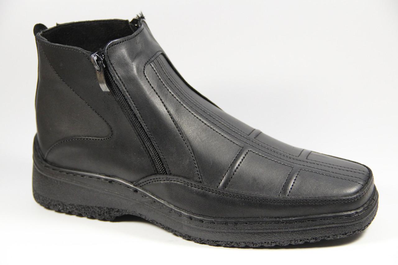 Мужские ботинки из натуральной кожи WAL 25 B