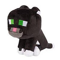Мягкие игрушки Minecraft - Tuxedo Cat 20 см.