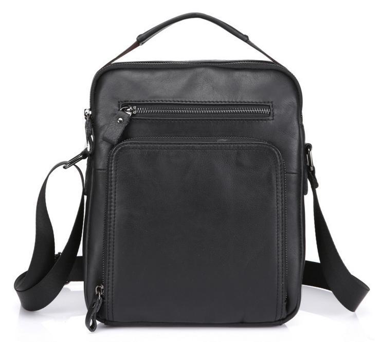 948d8978e105 Надежная мужская сумка-барсетка формата А5 из натуральной кожи черная -  АксМаркет в Киеве