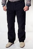Мужские вельветовые черные джинсы BLK 8158-1