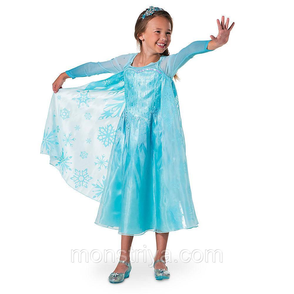 62ffdb540 Карнавальный костюм платье Эльзы Disney Новинка 2017 года: продажа ...