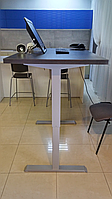 501-33 7(S, W, B) 129: Эргономичный компьютерный стол с электроприводом (новая улучшенная бюджетная модель)