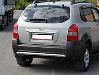 Защита заднего бампера Hyundai Tucson 2004-2010 AK002