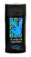 Playboy гель для душа мужской Generation (250 мл.) Франция