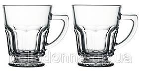 Чашки для капучино из жаропрочного стекла, набор Pasabahce 55202
