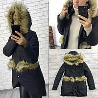 "Стильная  женская куртка для пышных дам "" Канада "" Dress Code"