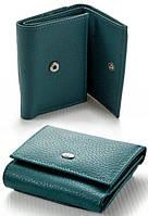Крепкий надежный маленький женский кожаный кошелек портмоне ST складной. Хорошее качество. Дешево. Код: КГ2185