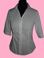 Женская блузка  рукав 1/2 белого цвета
