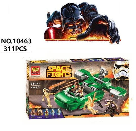 Конструктор Bela 10463 Флеш - Спидер (аналог Lego Star Wars 75091)