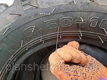 Шина 6.50-16 десяти шарова PR 10 з камерою для міні тракторів, фото 3