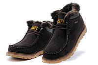 Caterpillar Winter Boots Dark Brown, фото 1
