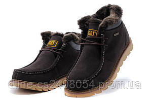 Caterpillar Winter Boots Dark Brown
