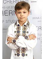 Для мальчика украинская вышиванка СХ 01
