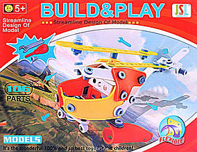 Коструктор Build&Play з викрутками 106 дет