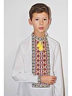 Украинская вышитая сорочка для мальчика Праздничная