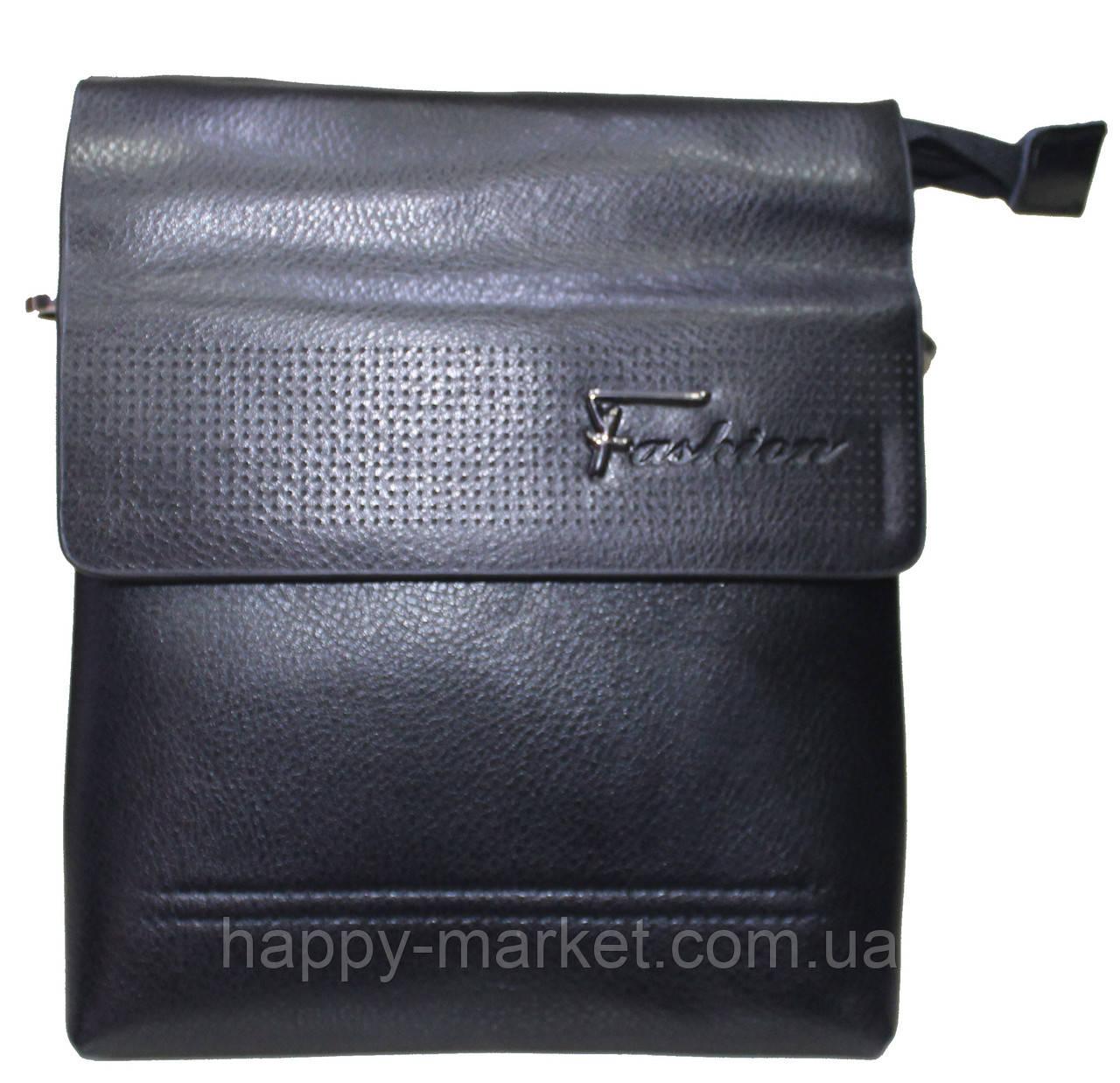 Сумка Мужская через плечо с короткой и длинной ручкой Fashion 18-88825-1