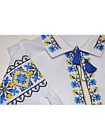 Вышитая блузка для девочки 10
